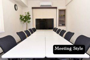 エキチカ会議室モノトーン