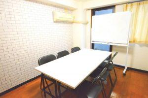 【相模原】10名収容/築浅リフォーム、クリーニングしたばかりの綺麗なお部屋【お気軽レンタルスペース・会議室】
