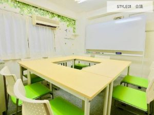 【水道橋】無料Wifi 完全個室24時間(1~10名〕軽飲食可!会議・仕事・セミナー・オフ会・お茶会・勉強会・レッスンなどに。ホワイトボード完備【SDB】